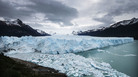 Glacial melting ice floats in Los Glaciares National Park, part of the Southern Patagonian Ice Field, in 2015 in Argentina.