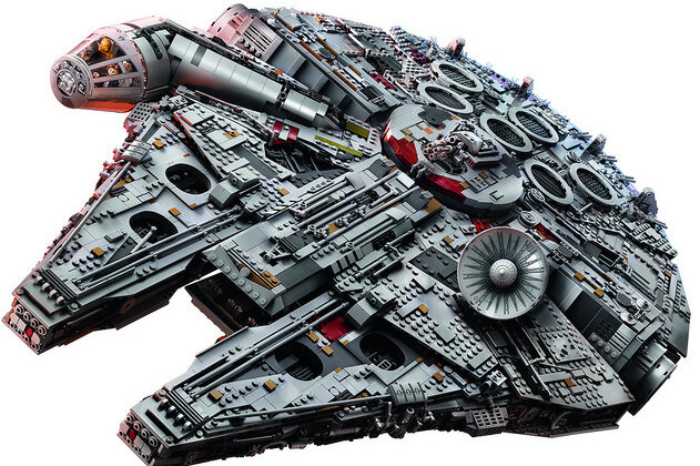 What's $800 And Already Sold Out? This Lego Star Wars Ship : The Two ...