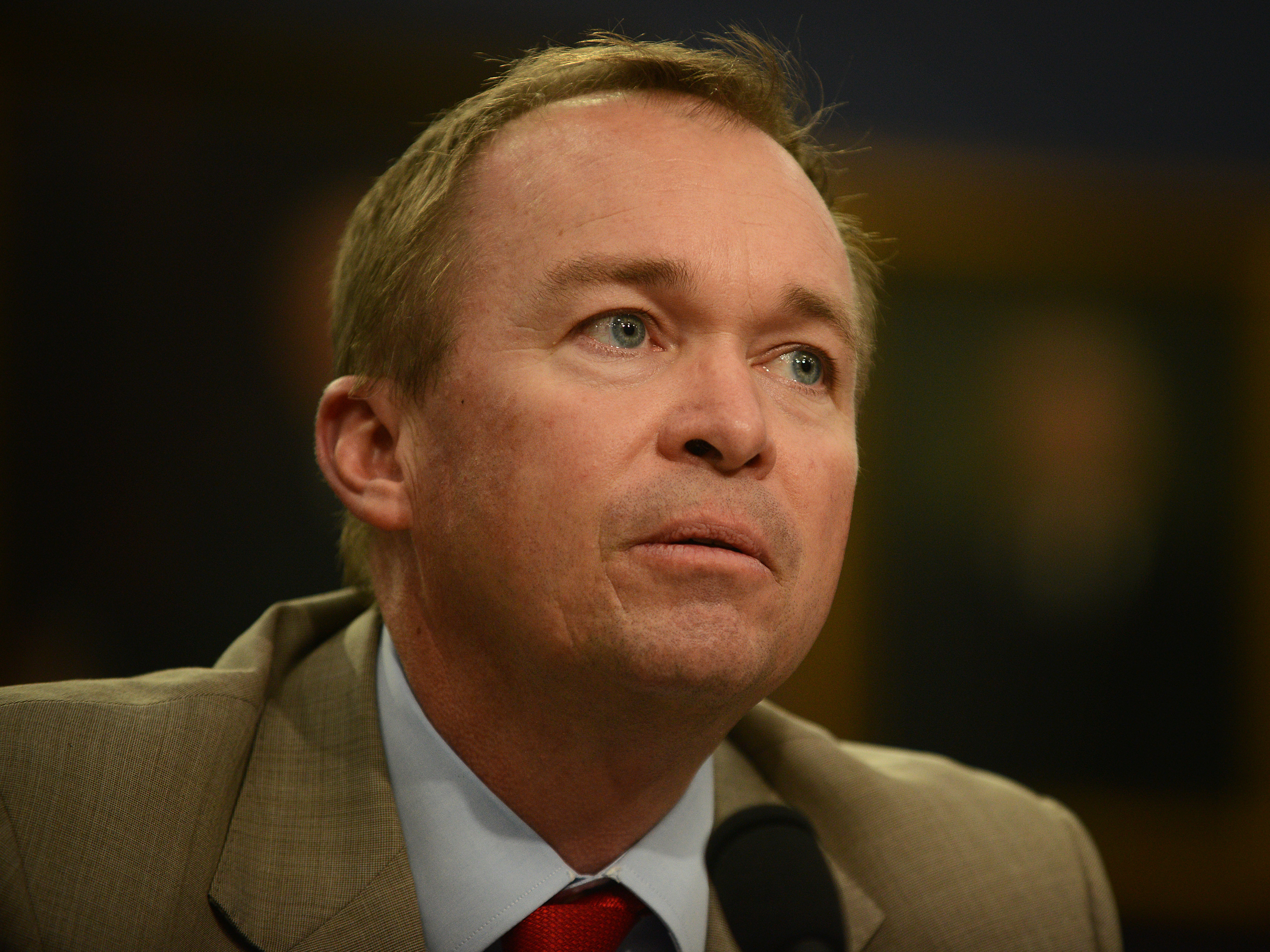 Trump Names His Budget Chief As Interim Head Of Consumer Protection Agency