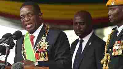 Zimbabwe Swears In A New President, In The First Transfer Of Power Since Independence