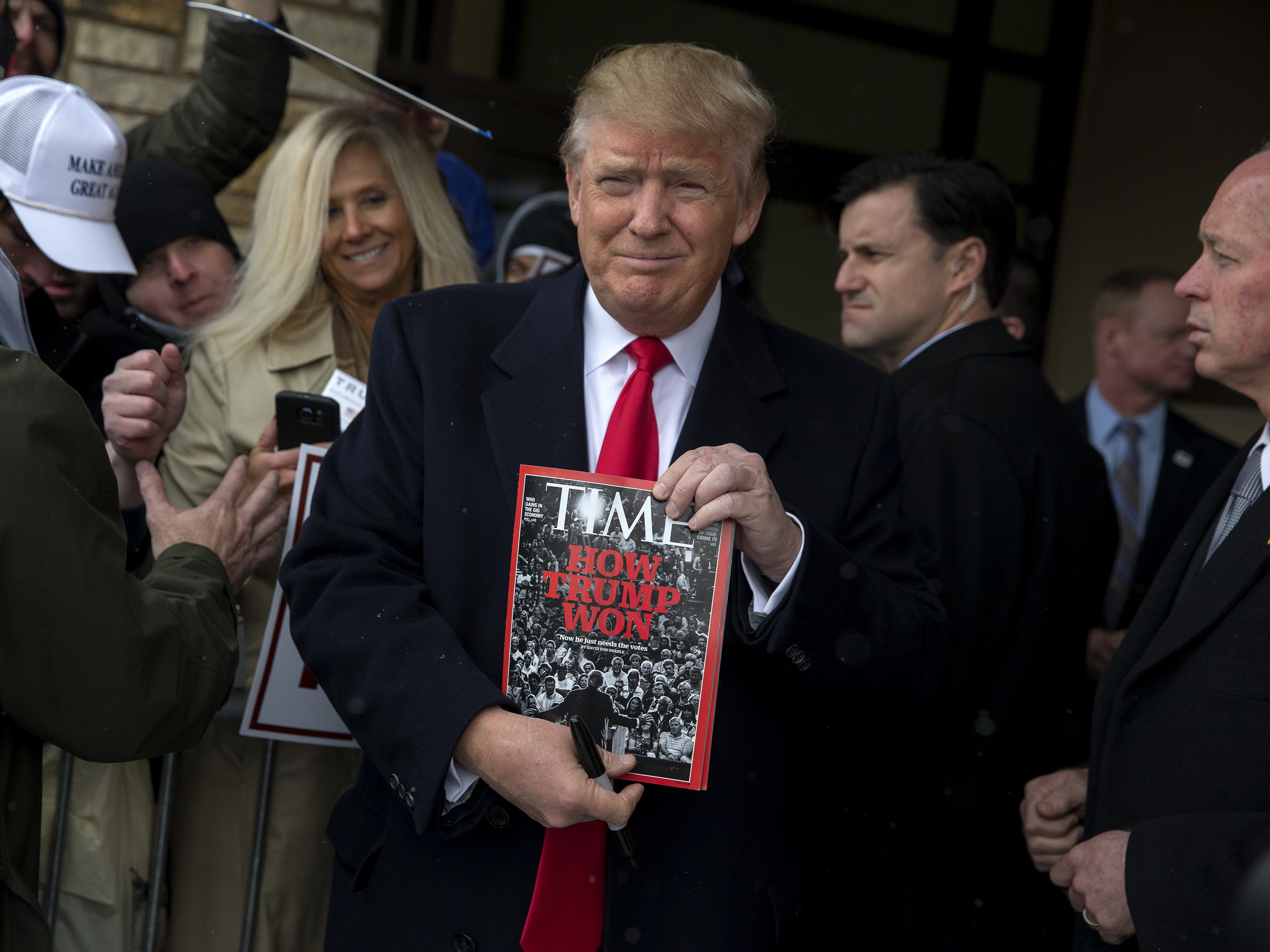 TIME Magazine Refutes Donald Trump's 'Person of the Year' Claim