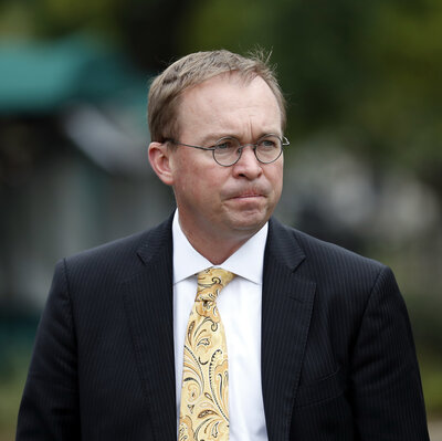 Mulvaney Shows Up For Work At Consumer Watchdog Group, As Leadership Feud Deepens