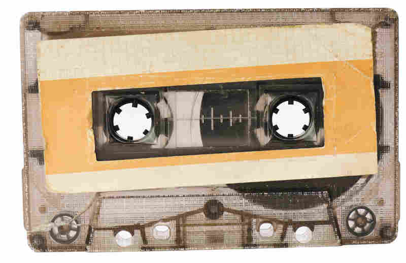 Audio cassette.