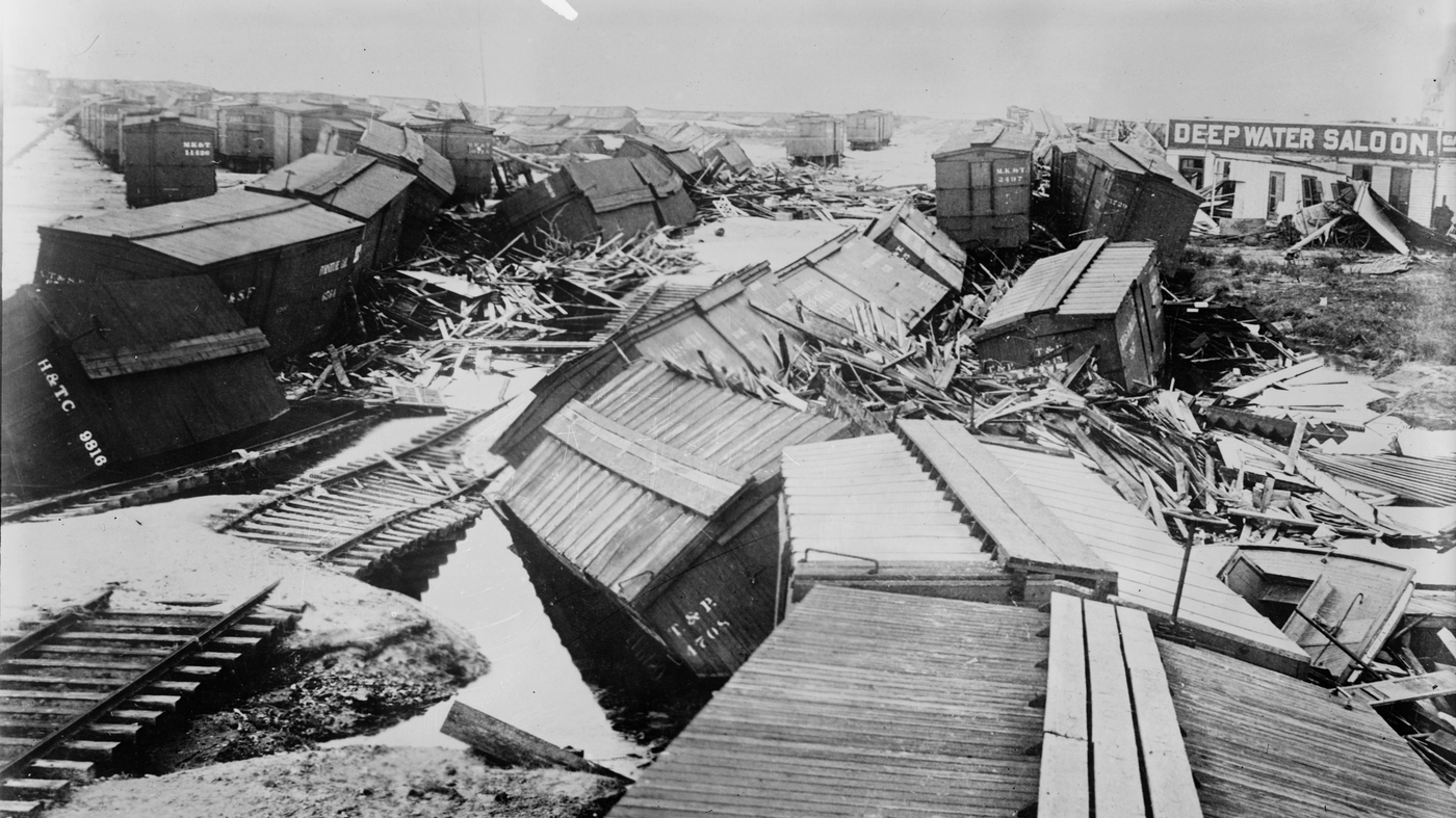 The Great Galveston Storm of 1900 Remains Most Deadly