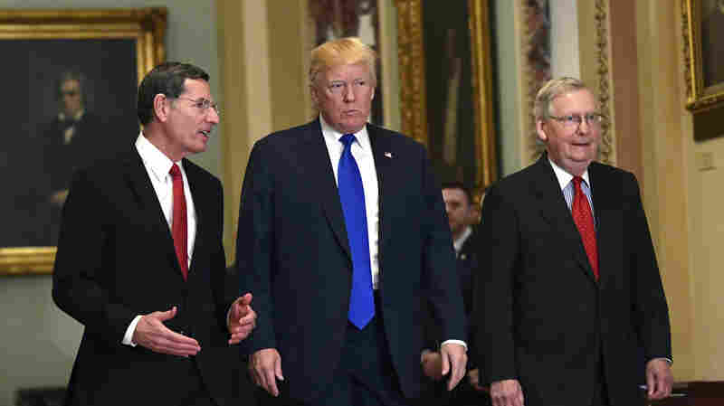 Senate Tax Bill Gaining Momentum With Some GOP Holdouts