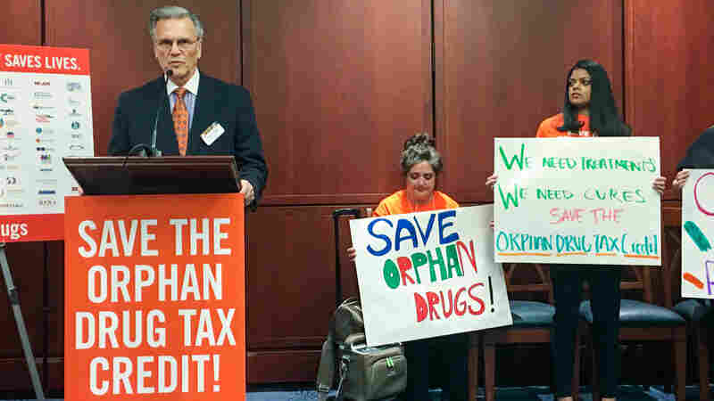Advocates For Patients With Rare Diseases Defend Tax Credits For Orphan Drugs