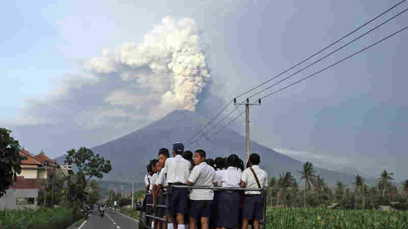 Bali's Airport To Reopen As Volcano Continues To Belch And Rumble