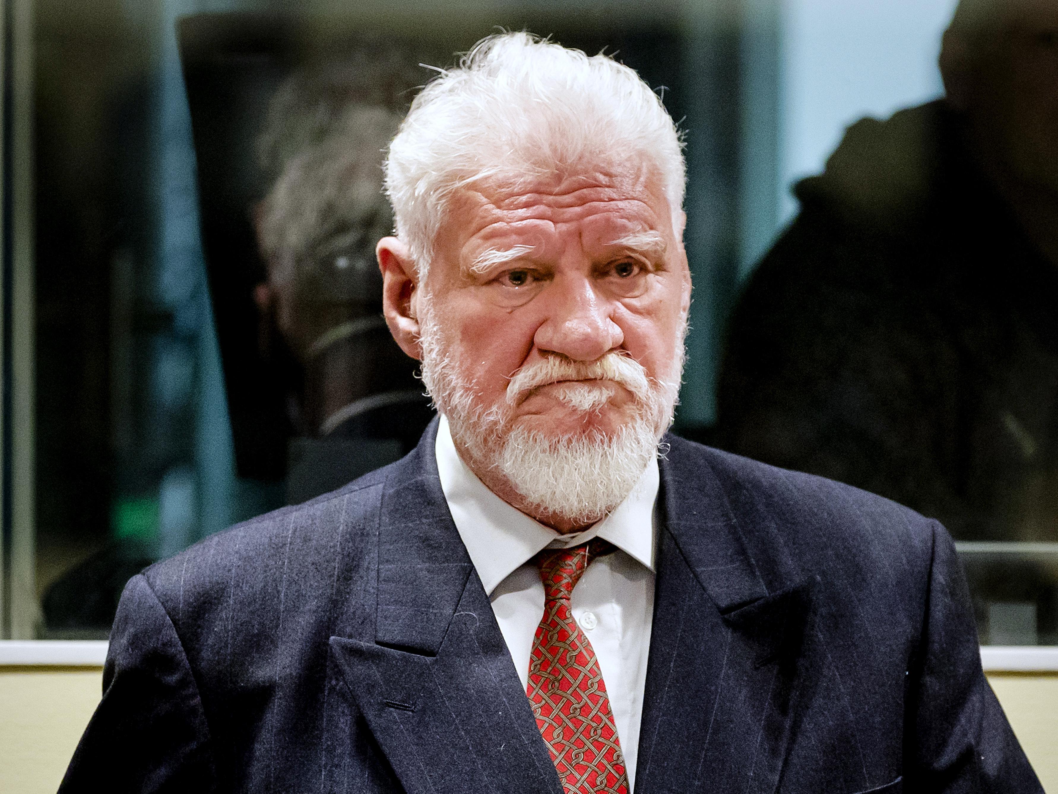 Drama at United Nations court as Slobodan Praljak 'takes poison'