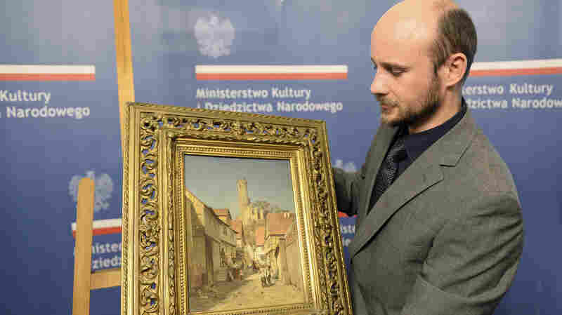 Painting Stolen By The Nazis Is Returned To Poland