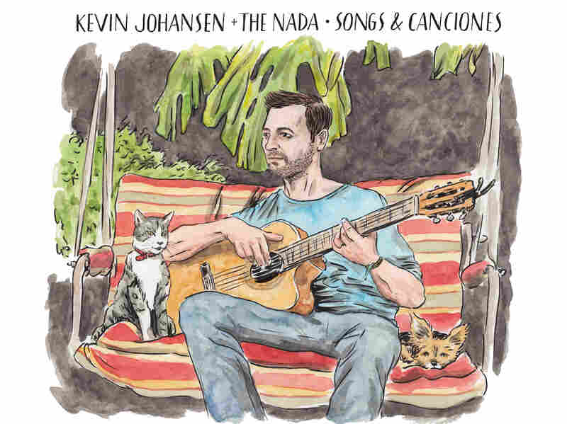Cover art to a Kevin Johansen album