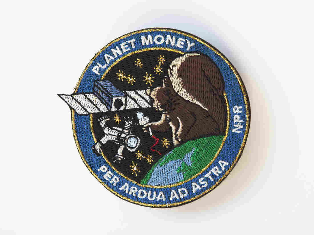 Planet Money's mission patch!