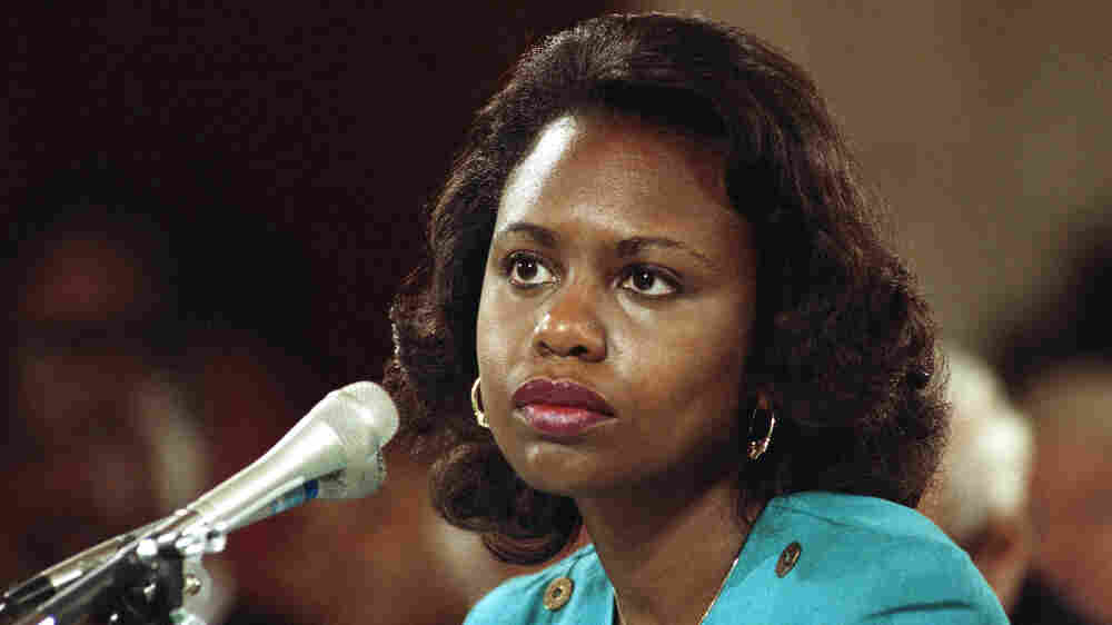 For Years, Anita Hill Was A 'Canary In The Coal Mine' For Women Speaking Out
