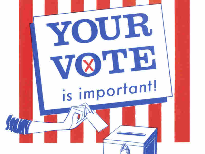 Your Vote is Important Election Poster (Photo by Found Image Holdings/Corbis via Getty Images)