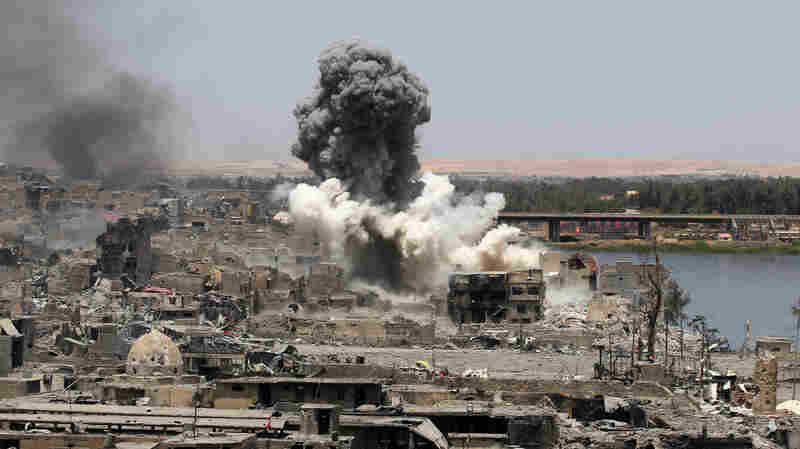 Coalition Strikes Killed More Than 800 Civilians In Fight Against ISIS, U.S. Says