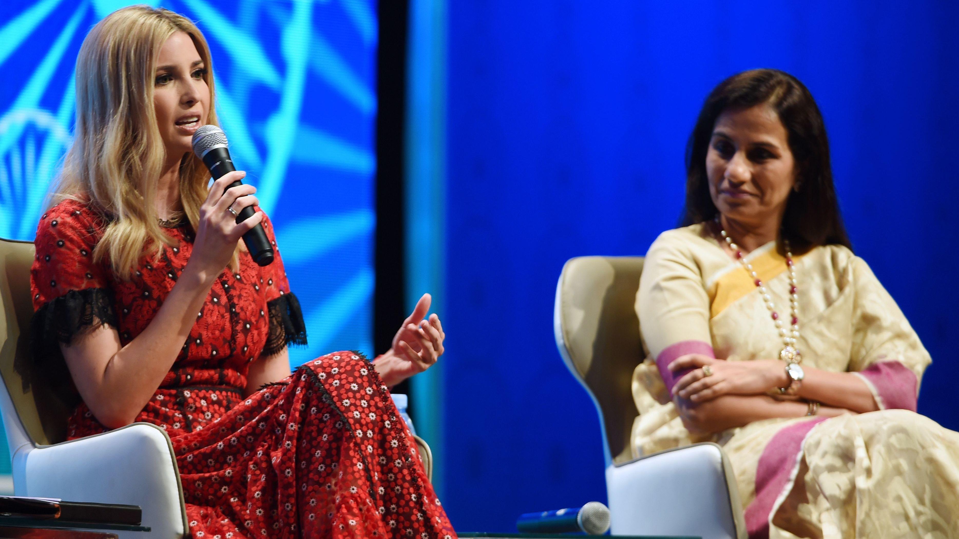 In Hyderabad, Indian Entrepreneurs Size Up Ivanka Trump