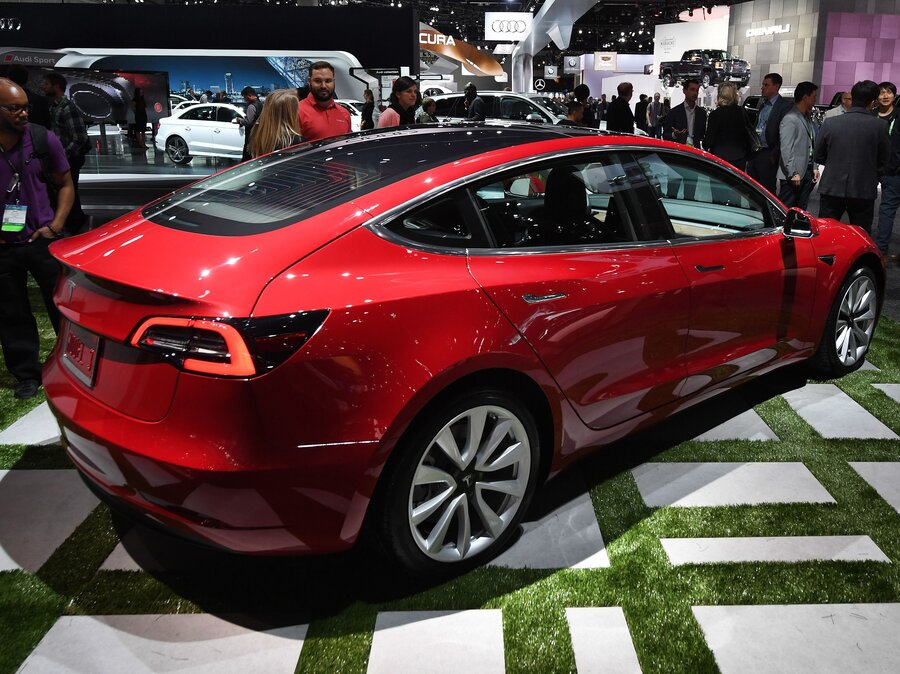Tesla lags in race to produce mass market electric cars npr tesla going at warp speed but lags in race to produce mass market electric cars malvernweather Gallery