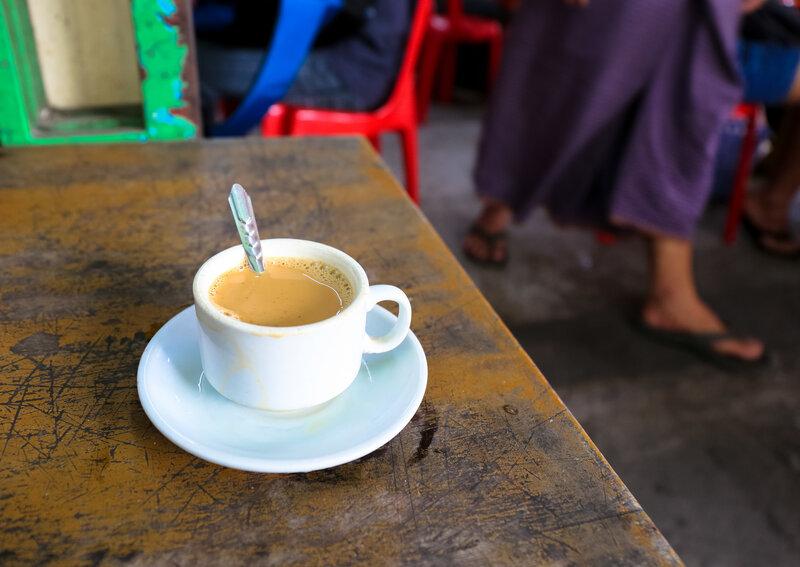 The Politics Of Myanmar's Changing Tea Culture : The Salt : NPR