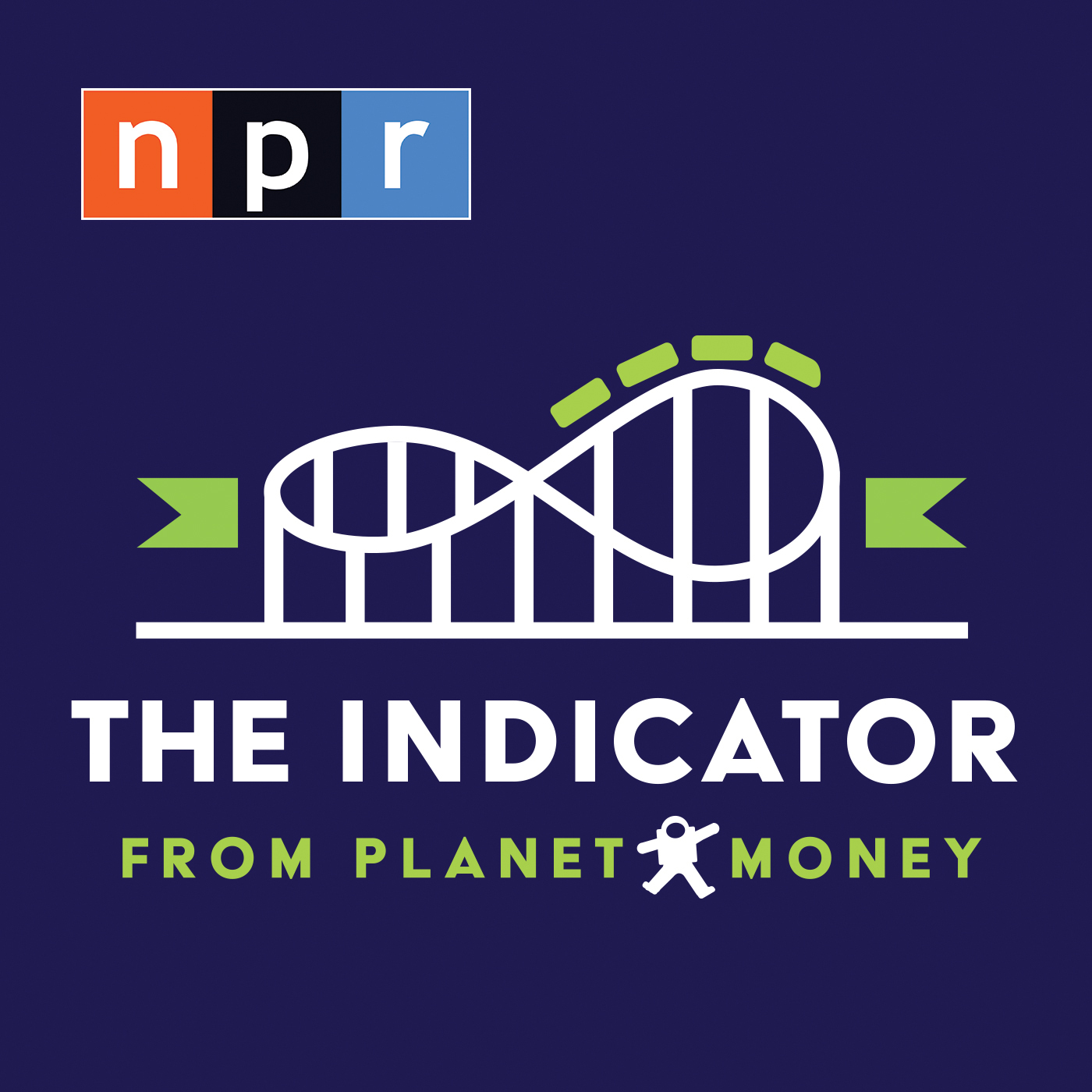 The Indicator from Planet Money Logo