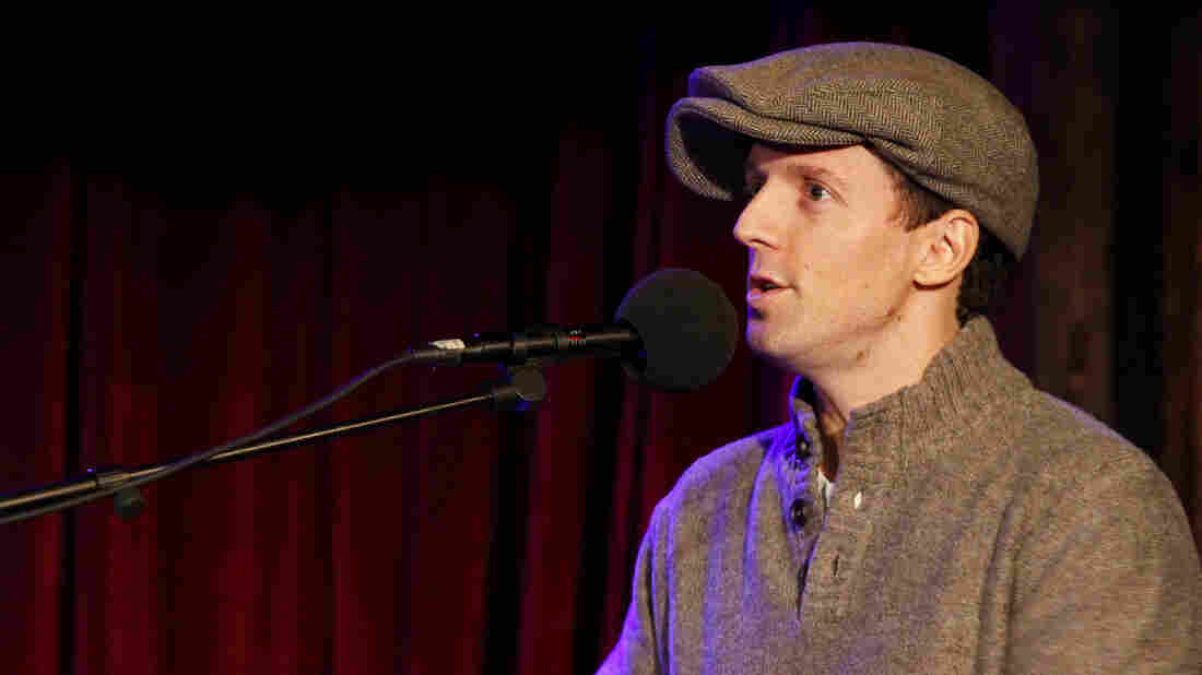 Jason Mraz appears on Ask Me Another at the Bell House in Brooklyn, New York.