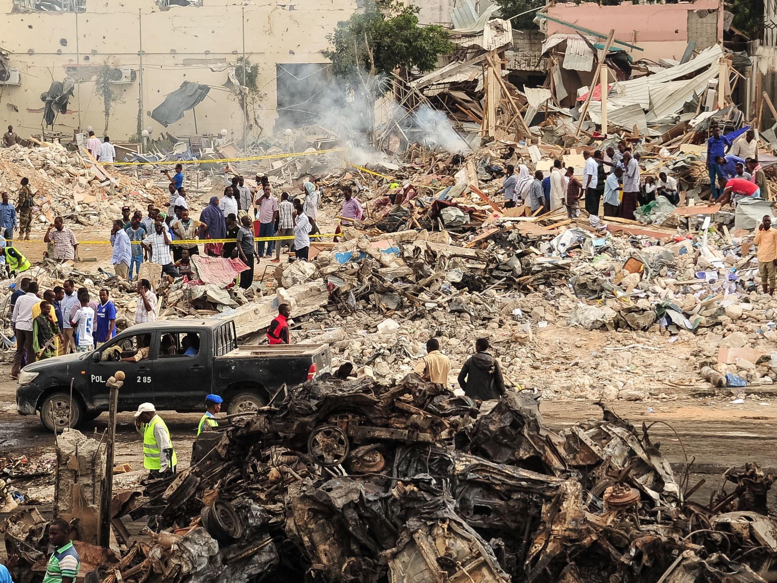 512 killed in deadliest bombing in Somalia