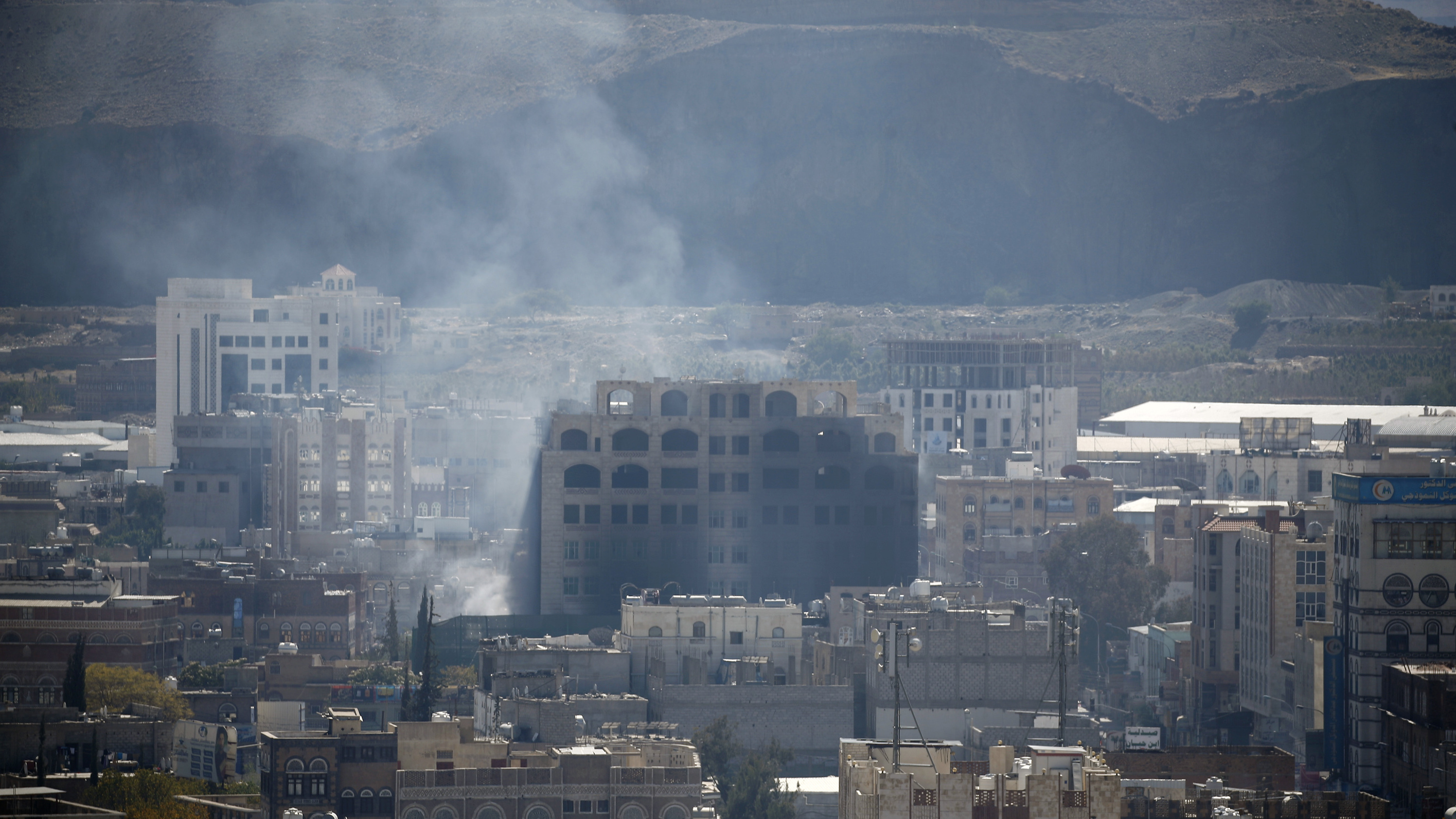 Bloody Battles Waged On The Streets Of Yemen's Capital, As Alliances Appear To Shift