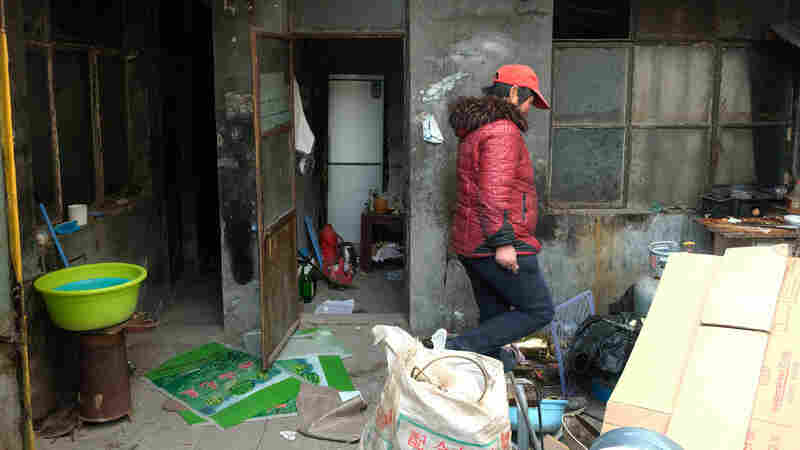 For Decades, China's Laborers Moved To Cities. Now They're Being Forced Out