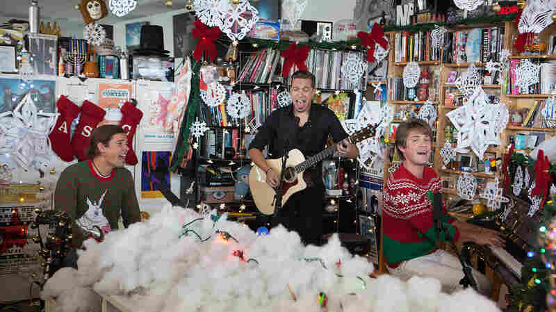 Hanson For The Holidays: Tiny Desk Concert