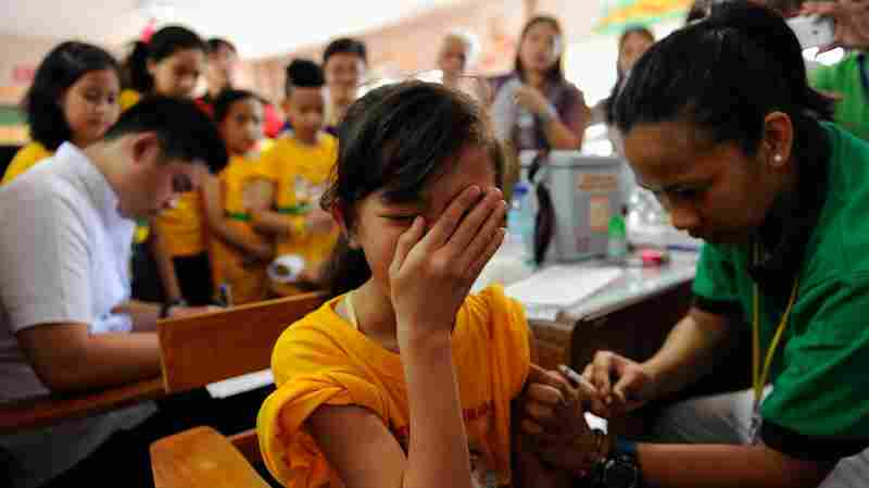 Vaccine Safety Concerns Shut Down Immunization Campaign In Philippines