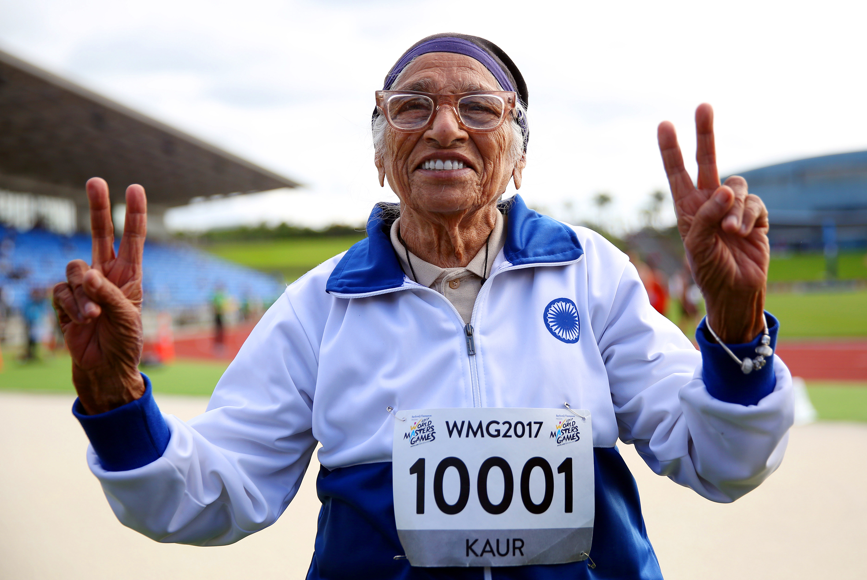 At Age 101, She's A World Champ Runner