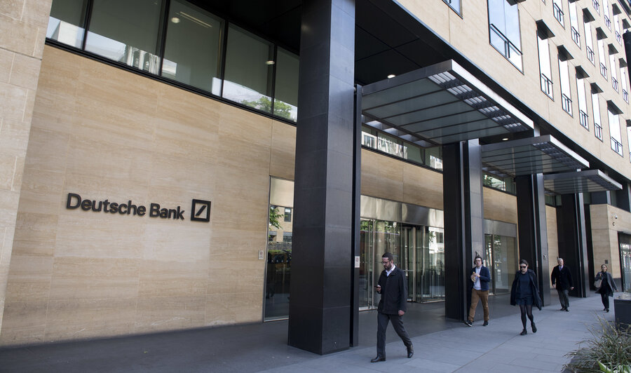 Dusche Bank subpoena for deutsche bank may put mueller on collision course with