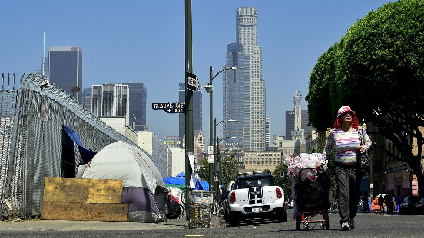 Homeless population rises driven by west coast affordable for Homeless shelters los angeles