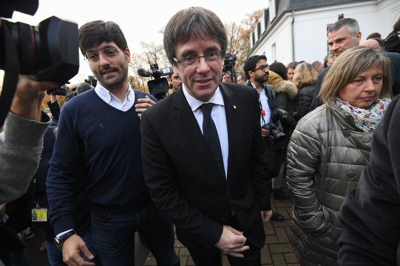 Spain Withdraws International Arrest Warrant For Catalan