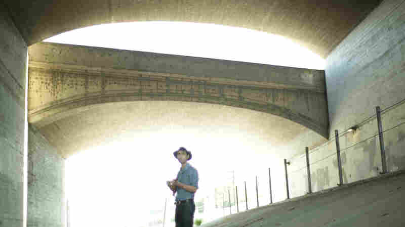 Watch Andrew Bird Perform Under The Hyperion Bridge In Los Angeles