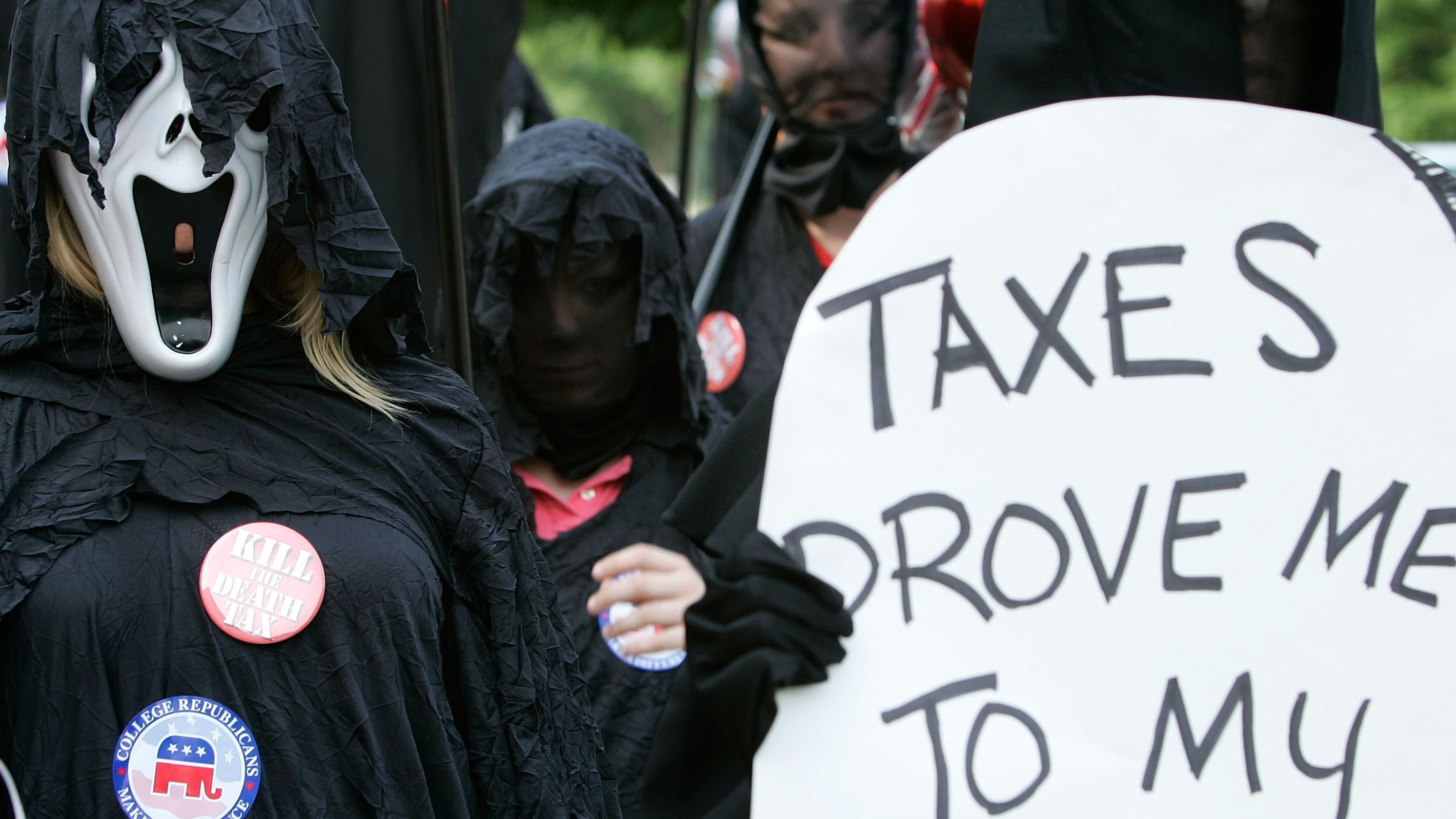 Image for As GOP Lawmakers Eye Cutting Estate Tax, Will They Increase Income Inequality? Article