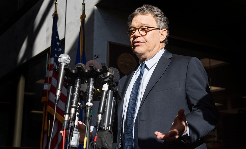 Multiple Democratic senators are calling for the resignation of Sen. Al Franken, D-Minn., who has been accused of sexual misconduct. (Jim Watson/AFP/Getty Images)