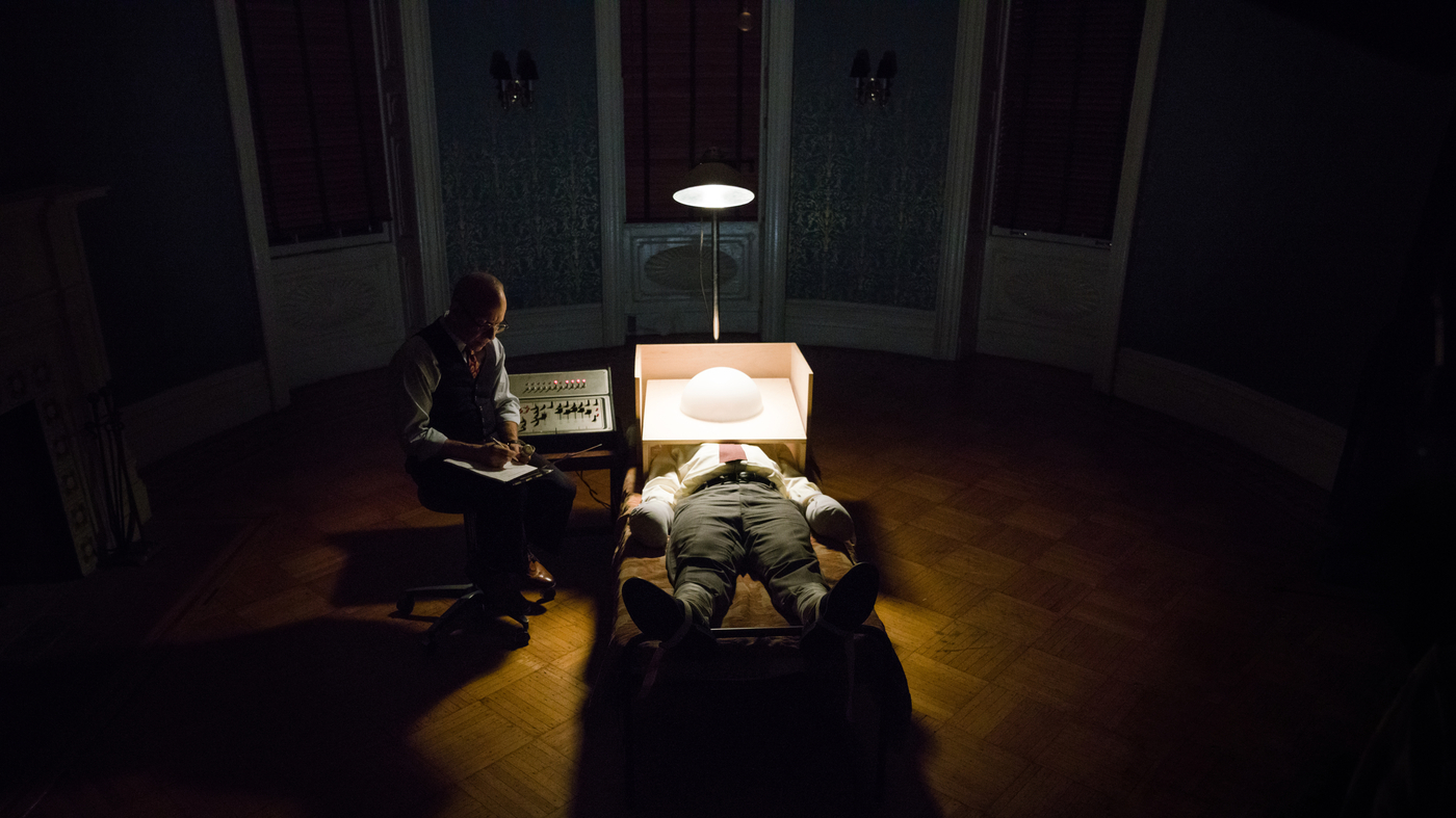 Potent Cocktail Of Drama And Documentary Explores A Mysterious Death: 'Wormwood'