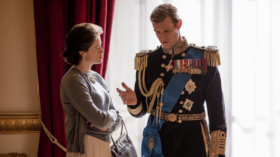 The first three episodes of <em>The Crown</em>'s new season focus on turmoil in the royal marriage between Elizabeth (Claire Foy) and her husband, Philip (Matt Smith). (Robert Viglasky/Netflix)