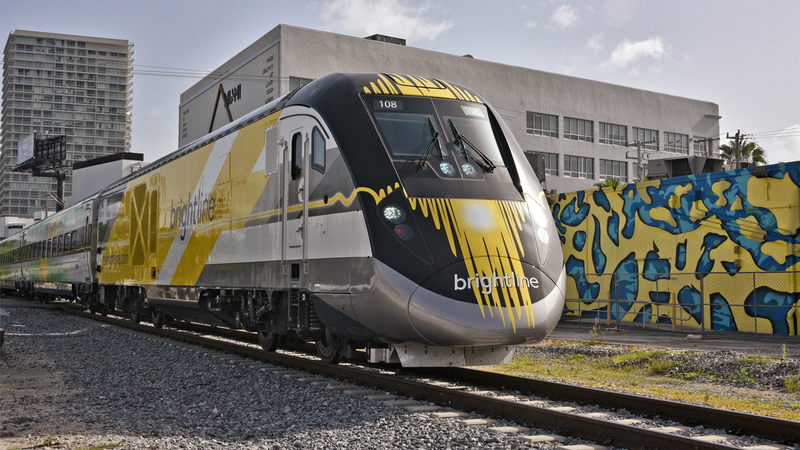Florida Set To Launch Country's First Private High-Speed Train Service