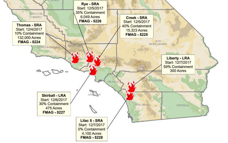 Lilac Fire Update And Fire Perimeter Map Osidenews