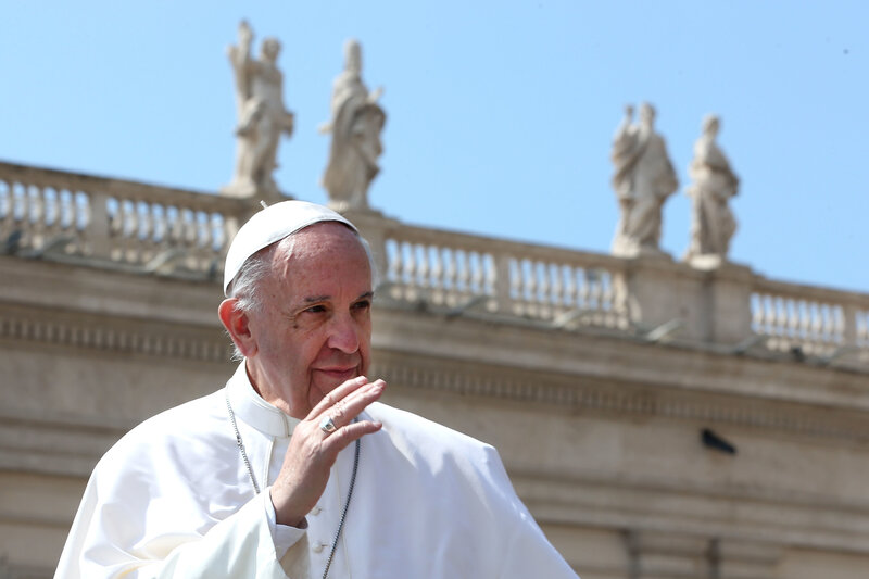 Pope Francis Suggests Changing The Words To The Lord S Prayer