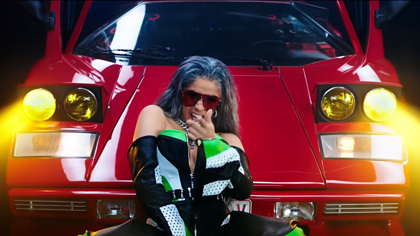 cardi b, nicki minaj, migos and hover cars converge in 'motorsport