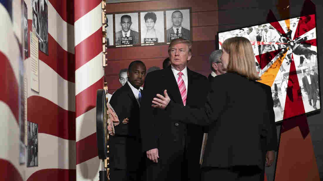 Sharpton: Trump's visit to civil rights museum a 'missed opportunity'