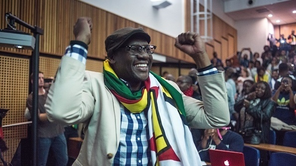 """Zimbabwean Pastor Evan Mawarire, acquitted recently of trying to subvert the government, has deftly used social media in a quest for justice and rights. """"It"""