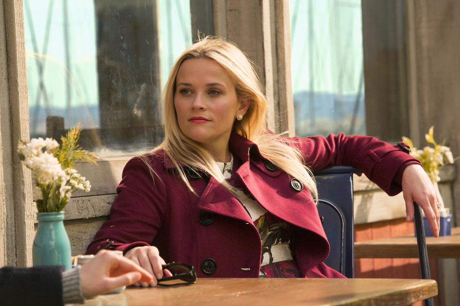 Reese Witherspoon in HBO's <em>Big Little Lies</em>. Witherspoon was nominated for a Golden Globe for best actress in a limited TV series or movie on Monday. (Hilary Bronwyn Gayle/AP)