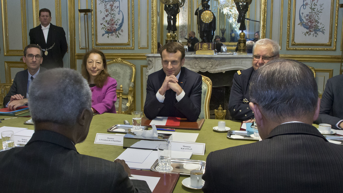 Macron Awards U.S. Climate Scientists Grants To 'Make Our Planet Great Again'