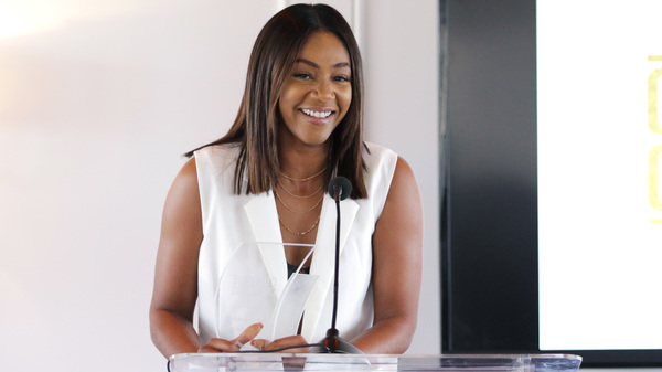 "Once she started having fun onstage, Tiffany Haddish says ""People were kind; it was easier to move forward."""