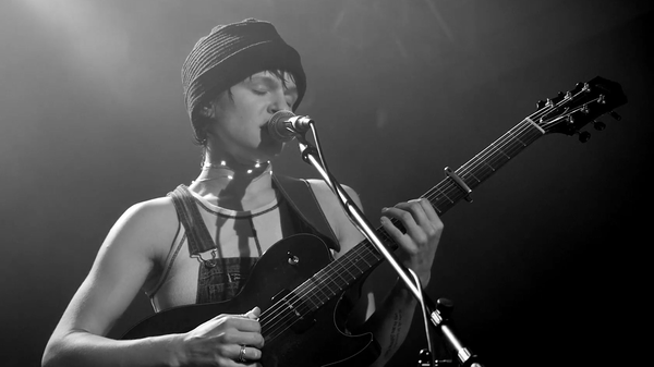 Adrianne Lenker of Big Thief performs at Gateway City Arts in Holyoke, Mass.