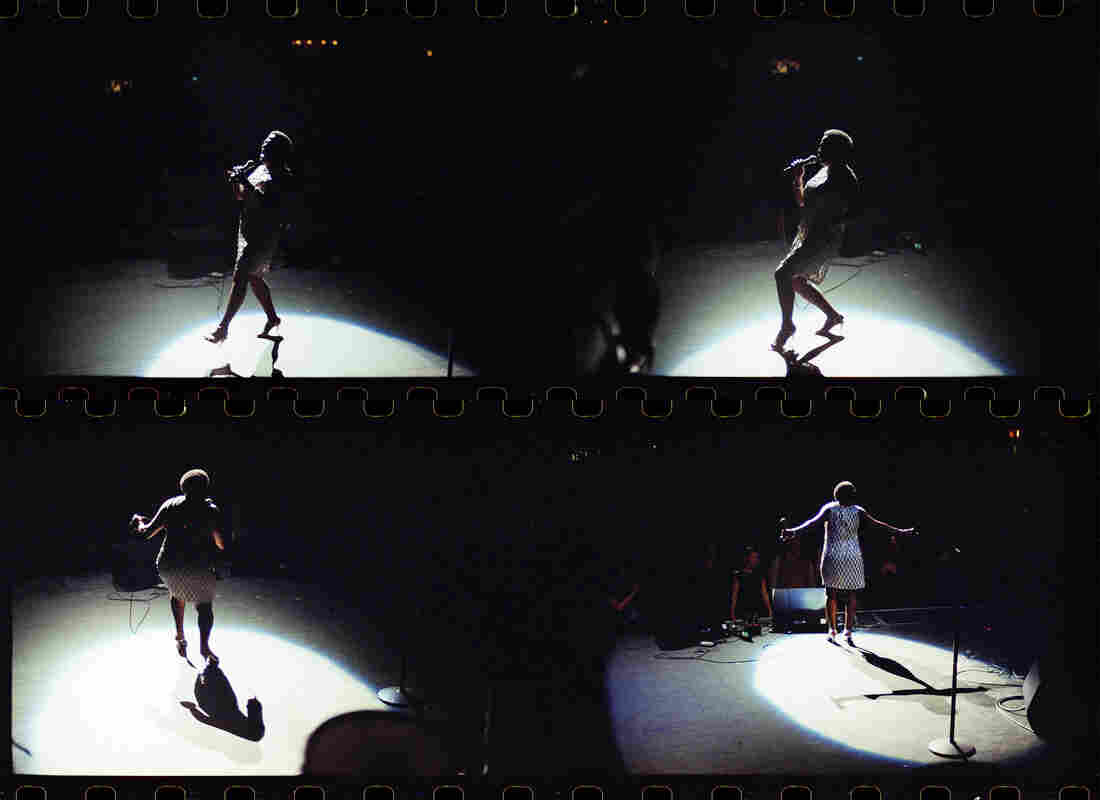 Apollo Theater, December 2014 - A sequence shot on film - her performances were so physical, I was always looking for the subtleties (and not-so-subtleties) of her body language.