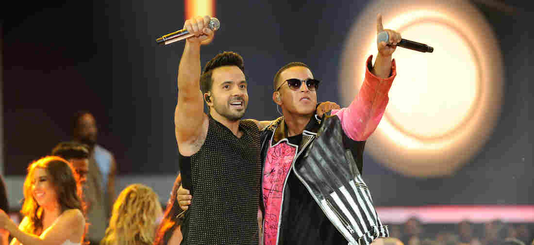 Luis Fonsi and Daddy Yankee perform onstage at the Billboard Latin Music Awards at Watsco Center on April 27, 2017 in Coral Gables, Florida.