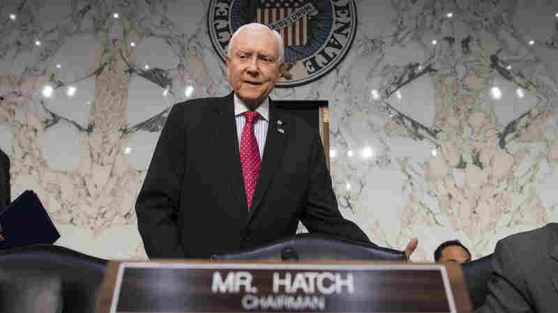 GOP Lawmakers Agree On Final Tax Package, Hatch Says